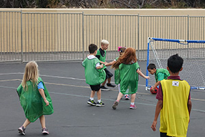 World Cup competition on Field Day
